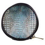 Ll Alligator Blue Mini Makeup Bag