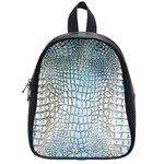 Ll Alligator Blue School Bag (Small)