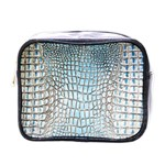 Ll Alligator Blue Mini Toiletries Bag (One Side)