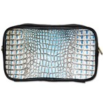 Ll Alligator Blue Toiletries Bag (Two Sides)
