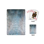Ll Alligator Blue Playing Cards (Mini)