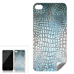 Ll Alligator Blue Apple iPhone 4 Skin