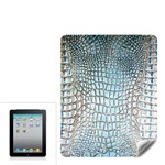 Ll Alligator Blue Apple iPad Skin