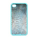 Ll Alligator Blue Apple iPhone 4 Case (Color)
