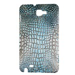 Ll Alligator Blue Samsung Galaxy Note Hardshell Case