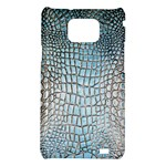 Ll Alligator Blue Samsung Galaxy S II i9100 Hardshell Case
