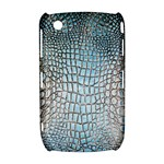Ll Alligator Blue BlackBerry Curve 8520 9300 Hardshell Case