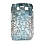 Ll Alligator Blue BlackBerry Bold 9700 Hardshell Case