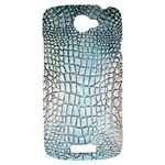 Ll Alligator Blue HTC One S Hardshell Case