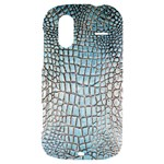 Ll Alligator Blue HTC Amaze 4G Hardshell Case
