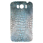 Ll Alligator Blue HTC Sensation XL Hardshell Case