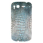 Ll Alligator Blue HTC Desire S Hardshell Case