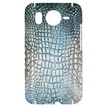 Ll Alligator Blue HTC Desire HD Hardshell Case