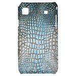 Ll Alligator Blue Samsung Galaxy S i9000 Hardshell Case