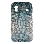 Ll Alligator Blue Samsung Galaxy Ace S5830 Hardshell Case