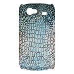 Ll Alligator Blue Samsung Galaxy Nexus S i9020 Hardshell Case