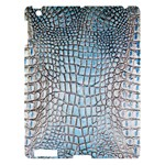 Ll Alligator Blue Apple iPad 3 Hardshell Case
