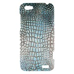Ll Alligator Blue HTC One V Hardshell Case
