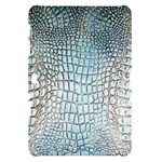 Ll Alligator Blue Samsung Galaxy Tab 10.1  P7500 Hardshell Case