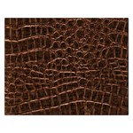Leather Look & Skins Brown Crocodile Jigsaw Puzzle (Rectangular)