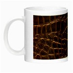 Leather Look & Skins Brown Crocodile Night Luminous Mug