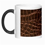 Leather Look & Skins Brown Crocodile Morph Mug