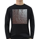 Leather Look & Skins Black And Brown Floral Long Sleeve Dark T-Shirt