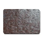Leather Look & Skins Black And Brown Floral Small Doormat