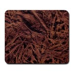 Leather Look & Skins Bark Brown Large Mousepad