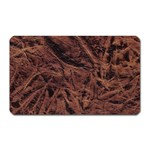 Leather Look & Skins Bark Brown Magnet (Rectangular)