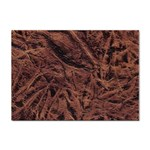 Leather Look & Skins Bark Brown Sticker A4 (100 pack)