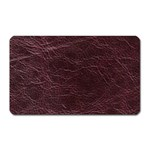 Leather Look & Skins  Capri Cranberry Magnet (Rectangular)
