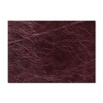 Leather Look & Skins  Capri Cranberry Sticker A4 (10 pack)
