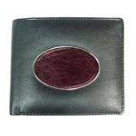 Leather Look & Skins  Capri Cranberry Wallet