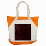 Leather Look & Skins  Capri Cranberry Accent Tote Bag