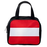 Austrian Flag Classic Handbag (One Side)