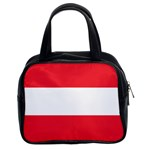 Austrian Flag Classic Handbag (Two Sides)