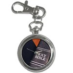 Holy Bible Christian Religious Key Chain Watch