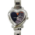 Holy Bible Christian Religious Heart Italian Charm Watch