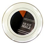 Holy Bible Christian Religious Porcelain Plate