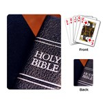 Holy Bible Christian Religious Playing Cards Single Design