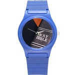 Holy Bible Christian Religious Round Plastic Sport Watch Small