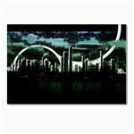 City Of The Apocalypse Goth Night Postcard 4 x 6  (Pkg of 10)
